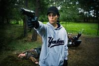 Noomi Rapace as Lisbeth Salander in
