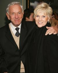 Jack Klugman and Peggy Crosby at the New York Opening of