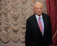 Ed Koch at the celebration of Koch's 85th Birthday and Anniversary.