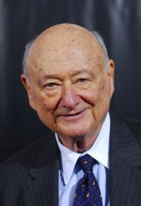Ed Koch at the New York premiere of