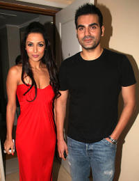 Mallaika Arora Khan and Arbaaz Khan at the promotional event of