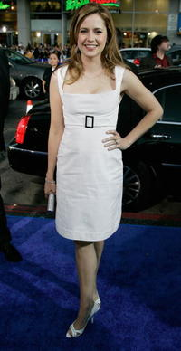 """Jenna Fisher at the premiere of """"Blades of Glory"""" in Hollywood."""