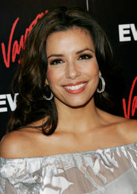 Eva Longoria Parker at Entertainment Weekly and Vavoom's Network Upfront party in New York City.