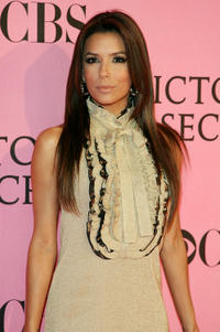 Eva Longoria Parker at the 2007 Victoria's Secret fashion show in Hollywood, California.