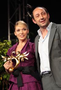Anne Marivin and Kad Merad at the 22nd Romantic Film Festival.