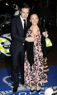 Rafe Spall and Alexandra Mann at the world premiere of