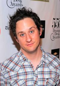 Christopher Fitzgerald at the 2010 Drama Desk Award nominees cocktail reception.