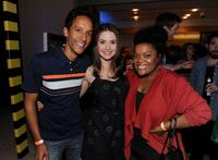 Danny Pudi, Alison Brie and Yvette Nicole Brown at the Comic-Con 2010.