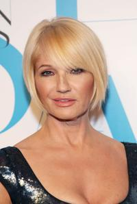 Ellen Barkin at the 25th Anniversary of the Annual CFDA Fashion Awards.