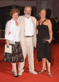Imelda Staunton, Director Mike Leigh and Heather Craney at the premiere of