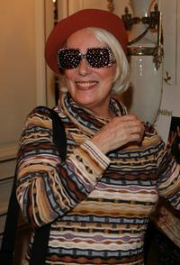 Bernadette Lafont at the Espace Glamour Chic - First Gift Lounge Before The Annual Cesar Film Awards.