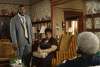 Tyler Perry as Brian and Tamela Mann as Cora in