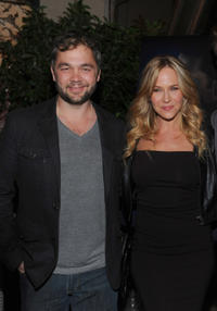 Mark Kelly and Julie Benz at the Hollywood Film Festival premiere party for
