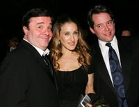 Nathan Lane, Sarah Jessica Parker and Matthew Broderick at the American Theatre Wing Annual Spring Gala.
