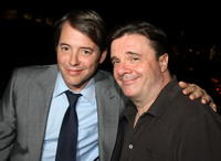 Matthew Broderick and Nathan Lane at the after party of