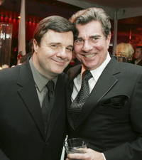 Nathan Lane and Gary Beach at the premiere of