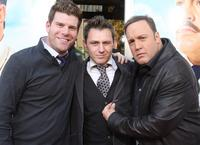 Stephen Rannazzisi, Keir O'Donnell and Kevin James at the premiere of