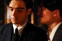 Javier Beltran as Federico Garcia Lorca and Robert Pattinson as Salvador Dali in
