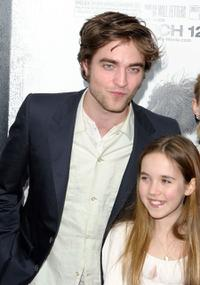 Robert Pattinson and Ruby Jerins at the New York premiere of