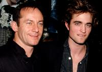 Jason Isaacs and Robert Pattinson at the premiere of
