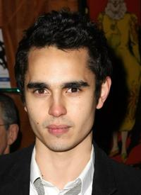 Max Minghella at the after party of the private screening of
