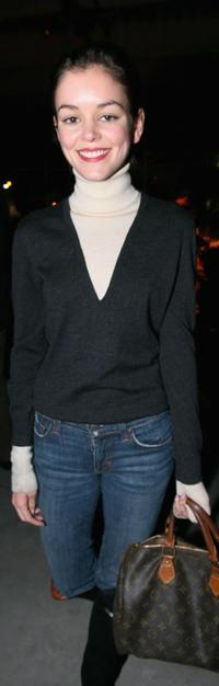 Nora Zehetner at the after party of the premiere of