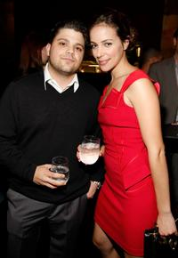 Jerry Ferrara and Tiffany Dupont at the HFPA Salute To Young Hollywood Party.