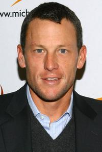 Lance Armstrong at the