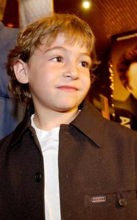 Jonah Bobo at the premiere of