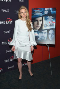Brit Marling at the New York premiere of