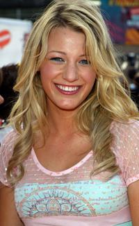 Blake Lively at the 18th Annual Kids Choice Awards.