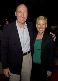 Ed Lauter and wife at the premiere of