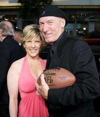 Ed Lauter and Guest at the premiere of
