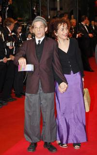 Denis Lavant and Guest at the screening of
