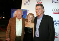 Sir Anthony Hopkins, Jessica Cauffiel and Christopher Lawford at the screening of