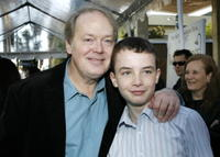 Director Jay Russell and actor Alex Etel at the Hollywood premiere of