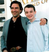 Ben Chaplin and Alex Etel at the premiere of