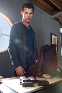 Taylor Lautner as Nathan in
