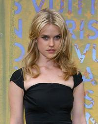 Alice Eve at the Louis Vuitton & Richard Prince Dinner.