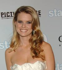 Alice Eve at the Los Angeles premiere of