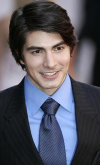 Brandon Routh at the premier of