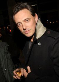Donovan Leitch at the after-party for Marc Jacobs and Louis Vuitton.