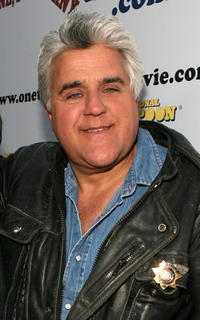 Jay Leno at the premiere of
