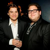 Emile Hirsch and Jonah Hill at the 7th Annual Breakthrough of the Year Awards.