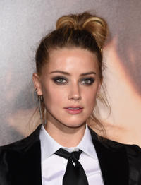 Amber Heard at the California premiere of