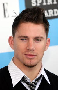 Channing Tatum at the 22nd Annual Film Independent Spirit Awards in Santa Monica.