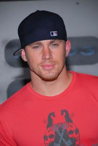 Channing Tatum at the XBOX 360