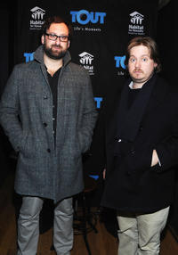 Eric Wareheim and Tim Heidecker at the Day 1 of Miami Oasis in Utah.