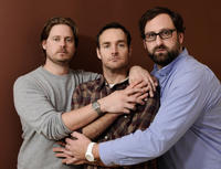 Tim Heidecker, producer Will Forte and Eric Wareheim at the portrait session of