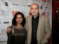 Tannishtha Chatterjee and Dev Benegal at the premiere of